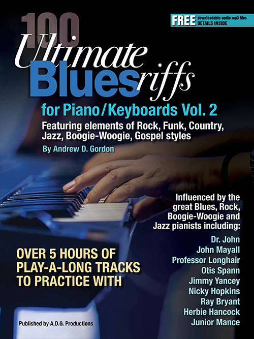 100 Ultimate Blues Riffs for Piano/Keyboards Vol. 2