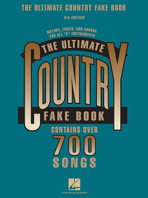 ULTIMATE COUNTRY FAKE BOOK - 5TH EDITION - C INSTRUMENTS