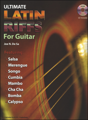Ultimate Latin Riffs For Guitar