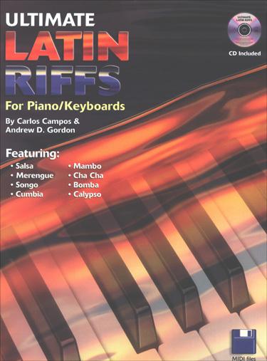 Ultimate Latin Riffs - Piano/Keyboard