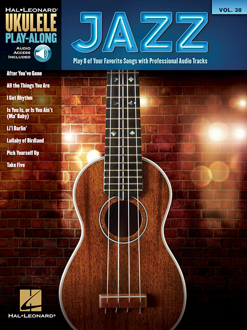 Ukulele Play-Along Volume 38 - Jazz