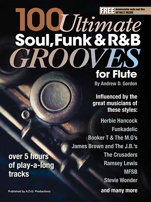 100 Ultimate Soul, Funk and R&B Grooves for Flute Book/MP3 files
