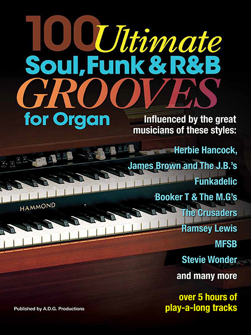 100 Ultimate Soul, Funk and R&B Grooves for Organ Book/MP3 files