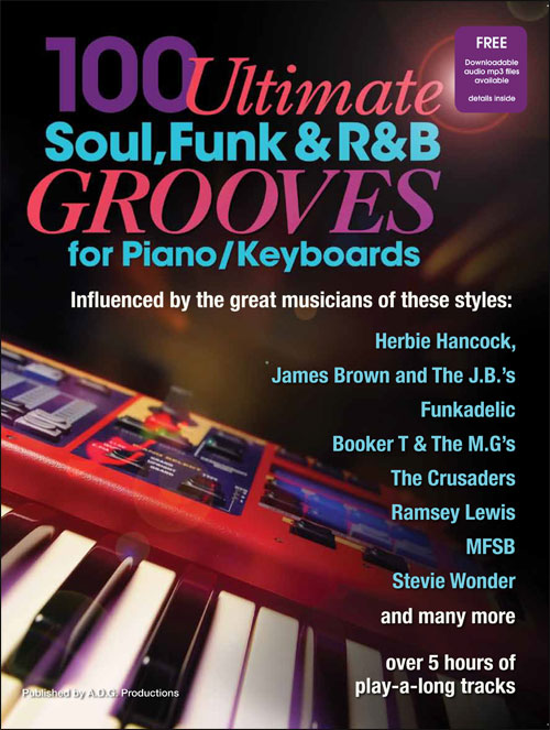 100 Ultimate Soul, Funk and R&B Grooves for Piano/Keyboards - Book/MP3 audio files