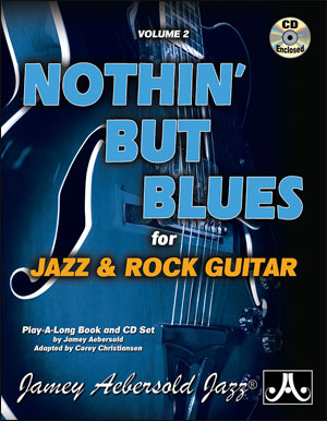 Vol. 2 Nothin' But Blues for Jazz Guitar