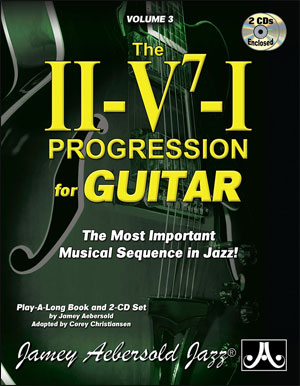 "Vol. 3 ""The II/V7/I Progression for Guitar"""