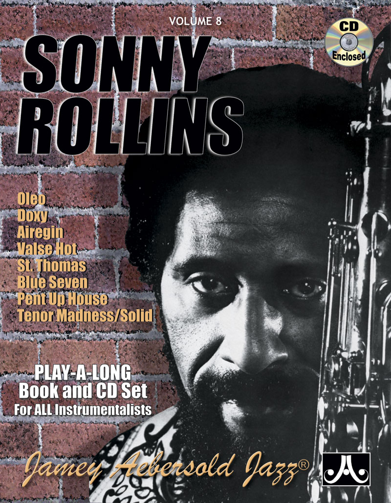 Volume 8 - Sonny Rollins - BOOK ONLY