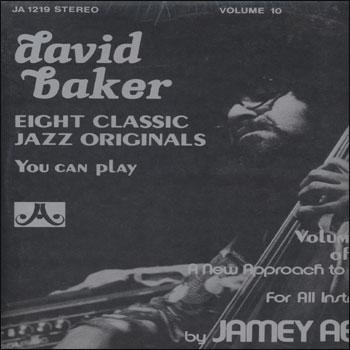 Volume 10 - David Baker - AUTOGRAPHED LP