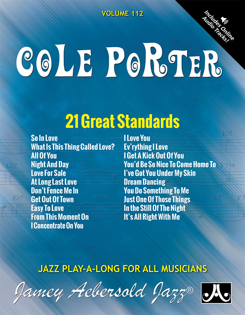 AEBERSOLD PLAY-A-LONG VOL. 112 - COLE PORTER - 21 GREAT STANDARDS