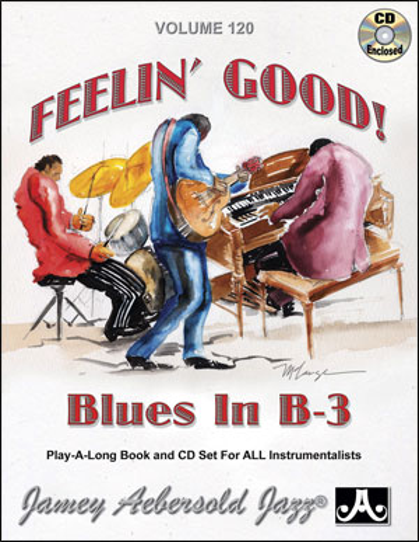 Vol. 120 BLUES IN B3! Jam with a Cookin' Organ & Guitar Trio