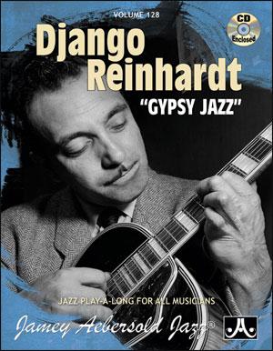 Volume 128 - Django Reinhardt - Gypsy Jazz - CD ONLY
