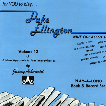 Volume 12 - Duke Ellington - AUTOGRAPHED LP