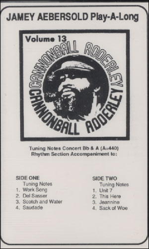 Volume 13 - Cannonball Adderley - CASSETTE ONLY