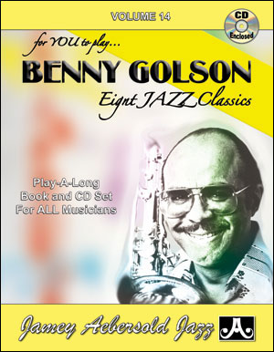 Volume 14 - Benny Golson - BOOK ONLY