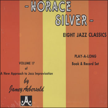 Volume 17 -  Horace Silver - AUTOGRAPHED LP