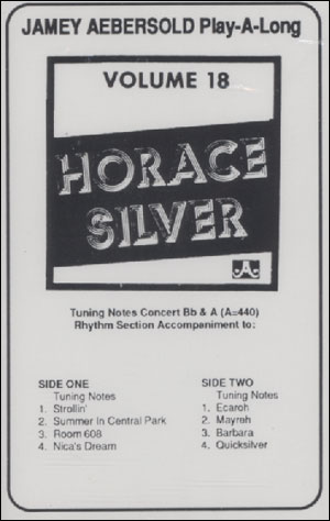 Volume - 18 Horace Silver - CASSETTE ONLY