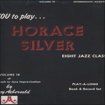 Volume 18 - Horace Silver - AUTOGRAPHED LP