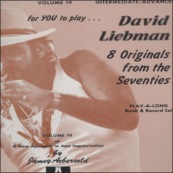Volume 19 - David Liebman - AUTOGRAPHED LP