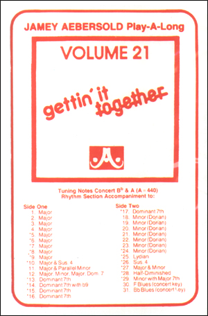 Volume 21 - Gettin' It Together - Cassette Only