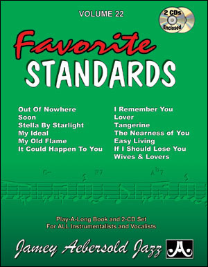 Volume 22 - 13 Favorite Standards - 2 CDS ONLY