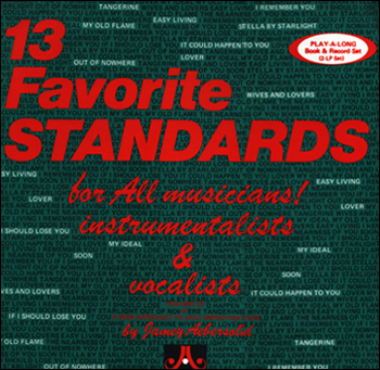 Volume 22 - 13 Favorite Standards - AUTOGRAPHED LPs