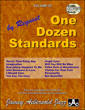 Volume 23 - One Dozen Standards - 2 CDS ONLY