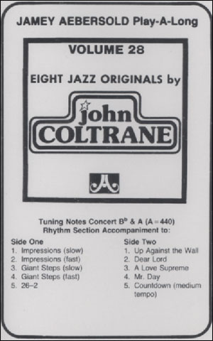 Volume 28 - John Coltrane - CASSETTE ONLY