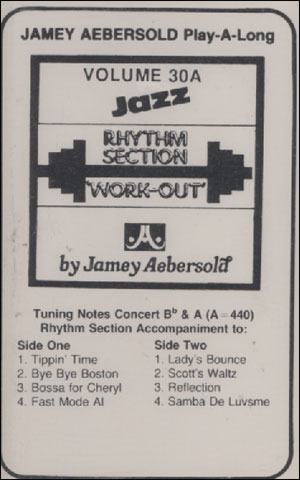 Volume 30A - Rhythm Section Workout (Keyboards, Guitar) - CASSETTE ONLY