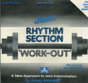 Volume 30B - Rhythm Section Workout (Bass, Drums) - AUTOGRAPHED LP