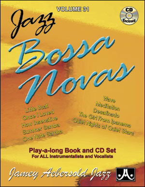 Volume 31 - Jazz Bossa Novas - CD ONLY