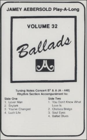 Volume - 32 - Ballads - CASSETTE ONLY