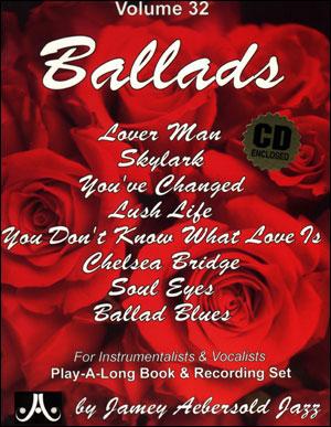 Volume 32 - Ballads - CD ONLY