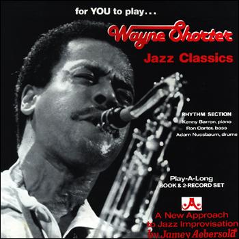 Volume 33 - Wayne Shorter Jazz Classics - AUTOGRAPHED LPs