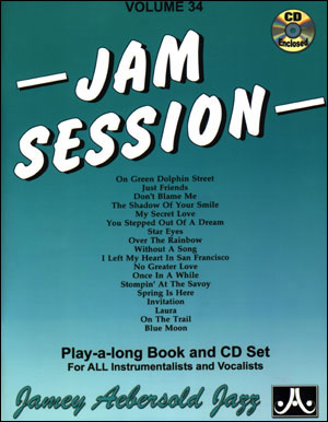 Volume 34 - Jam Session - 2 CDS ONLY