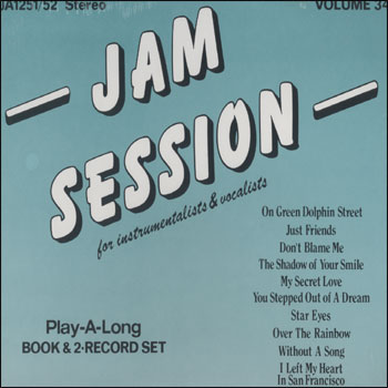 Volume 34 - Jam Session - AUTOGRAPHED LP