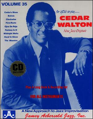 Volume 35 - Cedar Walton - BOOK ONLY