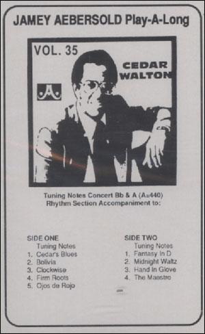 Volume 35 - Cedar Walton - CASSETTE ONLY