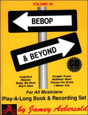Volume 36 - Bebop & Beyond - BOOK ONLY