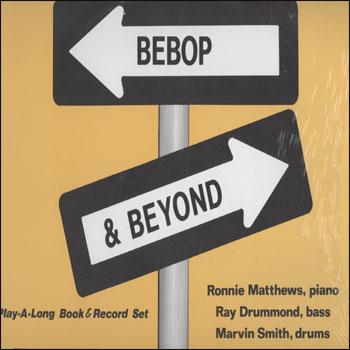 Volume 36 - Bebop And Beyond - AUTOGRAPHED LP