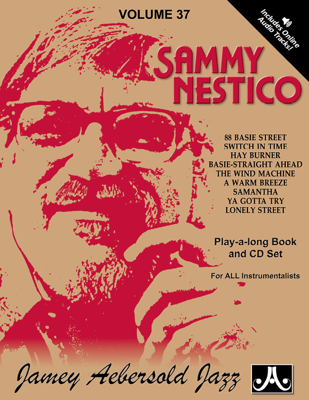 AEBERSOLD PLAY-A-LONG VOL. 37 - SAMMY NESTICO