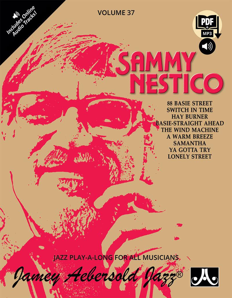 AEBERSOLD PLAY-A-LONG VOL. 37 - SAMMY NESTICO