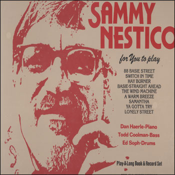 Volume 37 - Sammy Nestico - AUTOGRAPHED LP