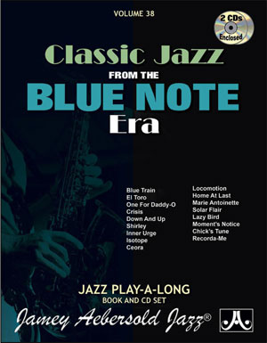 Volume 38 - Blue Note - BOOK ONLY