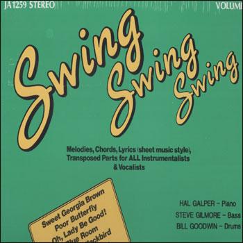 Volume 39 - Swing, Swing, Swing - AUTOGRAPHED LP