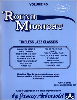 Volume 40 - 'Round Midnight - BOOK ONLY