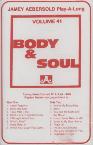 Volume 41 - Body And Soul - CASSETTES ONLY