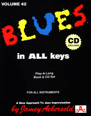 Volume 42 - Blues In All Keys - BOOK ONLY