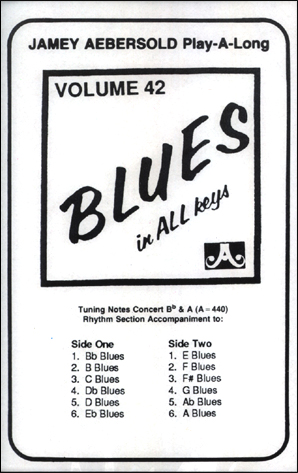 Volume 42 - Blues in All Keys - Cassette ONLY