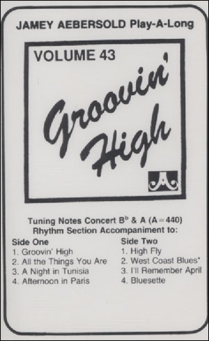 Volume 43 - Groovin High - CASSETTE ONLY