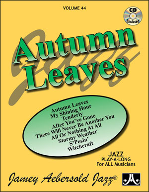 Volume 44 - Autumn Leaves - CD ONLY
